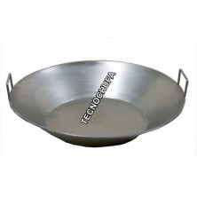 STAINLESS STEEL PAN WITH HANDLES 80 CMS - 25L