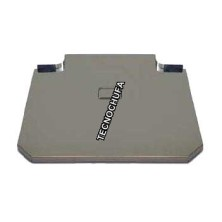 COVER FOR FRYER STAINLESS STEEL 70 CMS