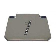 COVER FOR FRYER STAINLESS STEEL 80 CMS