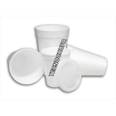 BOX 1000 FOAM POREX CUPS 200 CC